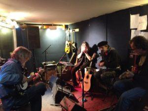 Jam Session mit Wally Ingram, Billy Watts und Terry Wilson (Eric Burdon and The Animals)